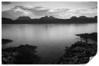 Achnahaird Bay and Assynt Mountains, Print