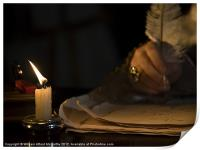 Candlelight &  Quill, Print