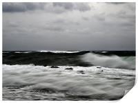 Rough Seas, Print