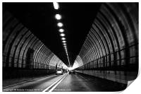 Dartford Crossing Tunnel, Print