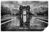 McLellan Arch Glasgow Green, Print