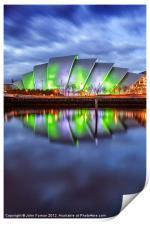 Armadillo Glasgow Scotland, Print