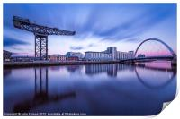 Scotland Finnieston Crane Glasgow, Print