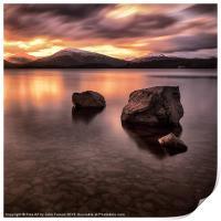 Loch Lomond Argyll, Print