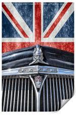 Remember being British, Print