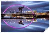 Clyde Arc Glasgow, Print