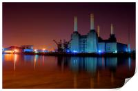 Battersea Power Station 2, Print