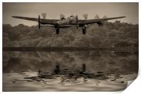 Departing Lancaster, Print