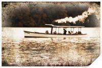 happy steamers, Print