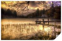 On Golden Loch, Print