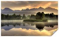 Slovakian Dawn, Print