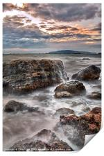 Rocks of the Nothe, Print