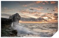 Sundown at Pulpit Rock, Print