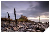 Lindisfarne Castle Sunrise, Print