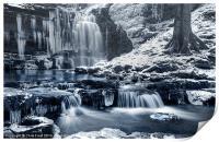 Frozen Scaleber Force Falls, Print