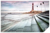 Blackpool Tower Curves, Print