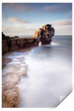 A long time standing at Pulpit Rock, Print