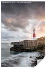 Sunkissed Portland Lighthouse, Print
