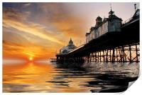 Eastbourne Pier Sunrise, Print