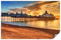 Eastbourne Pier, Print