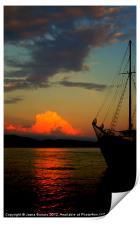 Lets sail away, Print