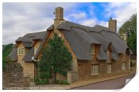 Thatched Cottage, Print