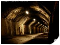 Chee Tor No 1 Tunnel, Derbyshire, Monsal Trail, Print