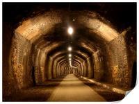 Cressbrook Tunnel, Monsal Trail, Derbyshire, Print