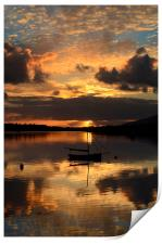 Sunset in Dingle, Print