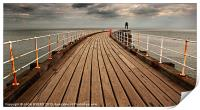 Whitby West Pier, Print
