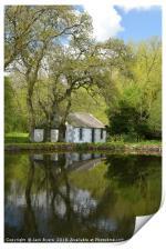 Lochside Cottage, Print