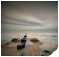 Posts into the Sea, Print