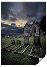Resting Place, Print