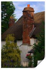 Devon cottage, Print