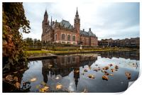 Peace Palace in The Hague, Print