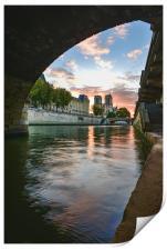 Paris Sunrise, Print