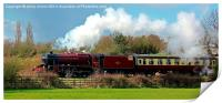 Locomotive 48624, Print