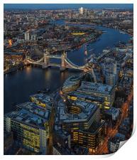 Tower Bridge Skyline, Print
