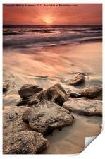 Western Australia Beach Sunset, Print