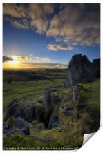 Harborough Rocks 1.0, Print
