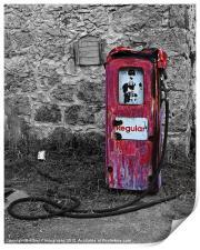 Gasoline ends, Print