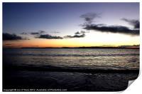 BRAIGHE BEACH COPPER REFLECTION, Print