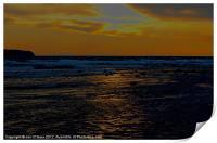 BEACH SUN REFLECTION, Print