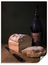 Bread & Wine, Print