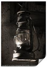 The old Oil lamp, Print