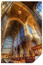 Bath Abbey Architecture , Print