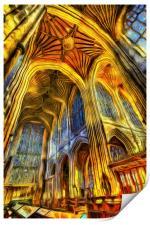 Bath Abbey Vincent Van Gogh, Print