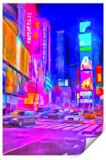 Times Square Pop Art, Print