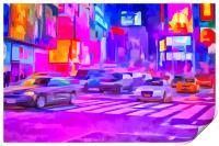 Pop Art Times Square , Print
