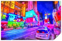 Times Square New York Art, Print